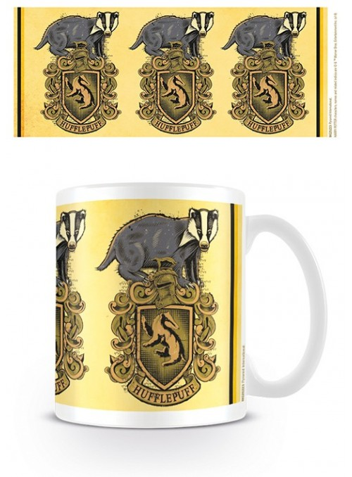 Taza Hufflepuff escudo - Harry Potter