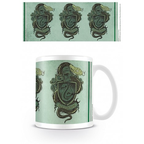 Taza Slytherin escudo - Harry Potter
