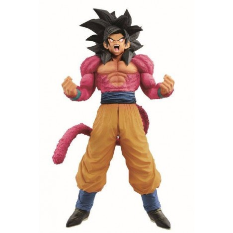 Figura Super Master Stars Piece - The Brush - Son Goku SSJ 4 Dragon ball GT