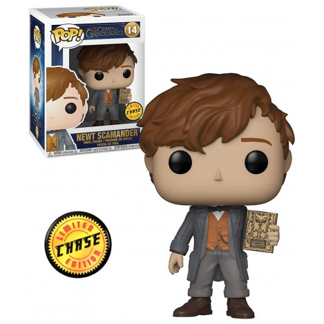Figura Funko POP Newt (Chase) - Animales Fantásticos 2