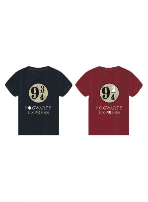 T-Shirt Hogwarts Express 9 3/4, Blue/Red - Harry Potter