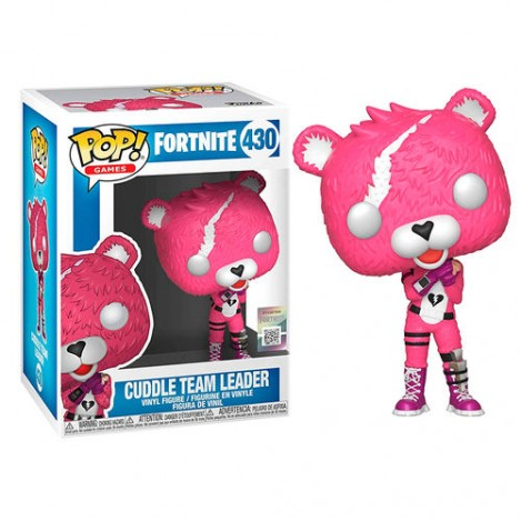 Figura Funko POP Cuddle Team Leader - Fortnite