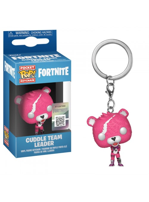 Llavero Pocket POP Cuddle Team Leader - Fortnite