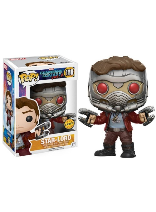 Figura POP Star-Lord Chase - Guardians of the Galaxy 2