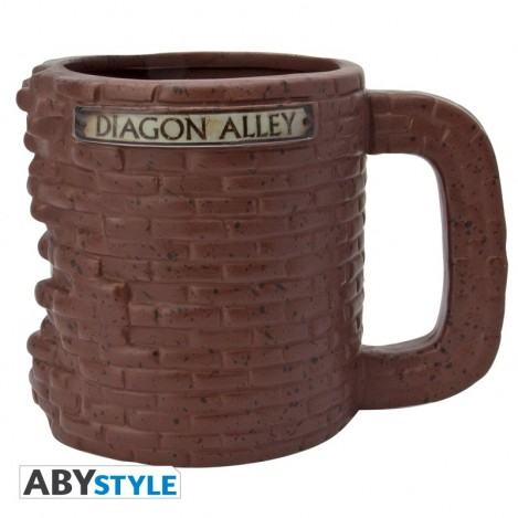 Taza 3D Callejon Diagon - Harry Potter