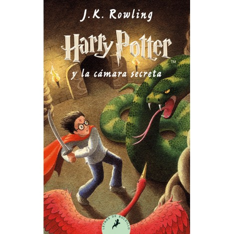 Harry Potter y la Cámara secreta , ed. Bolsillo Castellano