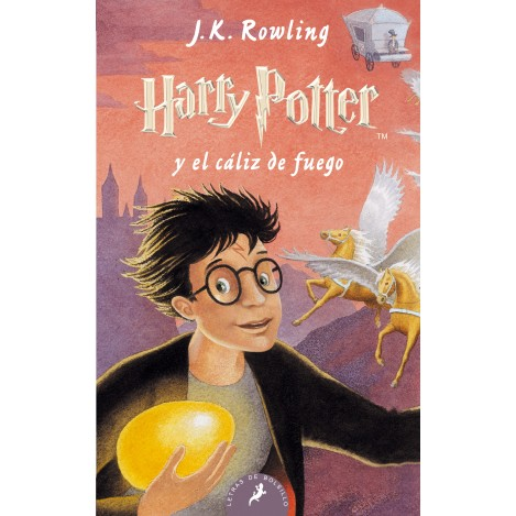 Harry Potter y el caliz de Fuego , ed. Castellano