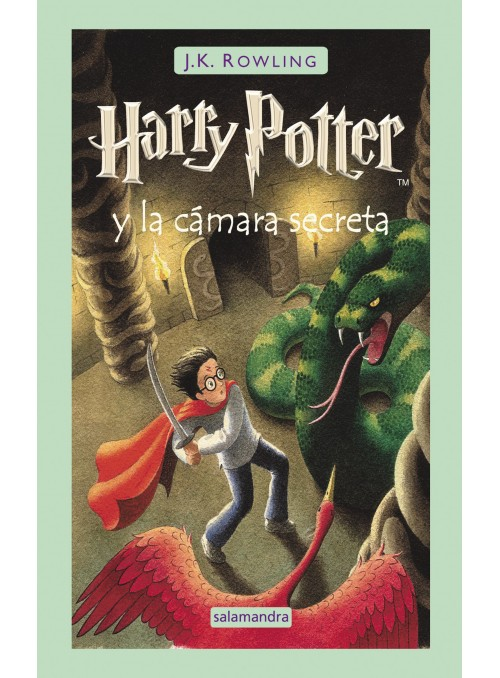 Harry Potter y la Cámara secreta , ed. Castellano