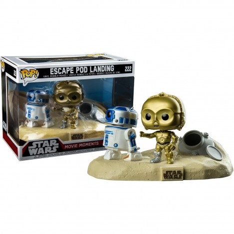 Figura Funko POP R2-D2 & C-3PO Desierto Exclusive - Star Wars