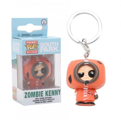 Llavero Pocket Funko POP Zombie Kenny - South Park