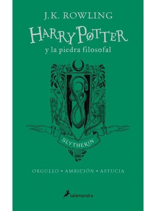 Harry Potter y la piedra filosofal 20th Aniversario (Slytherin)ed. Español