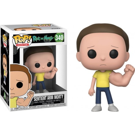 Figura Funko POP Prison Sentinent Arm Morty - Rick & Morty