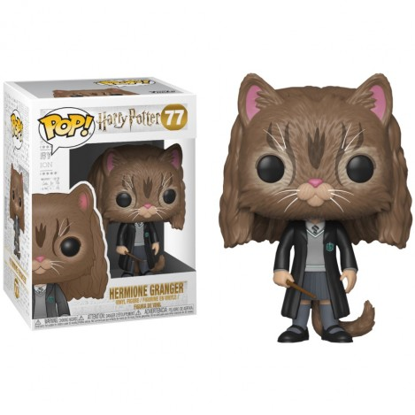 Figura Funko POP Hermione como gato - Harry Potter