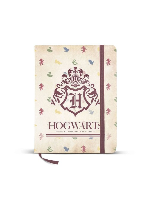 Diario 14x21cm Hogwarts - Harry Potter