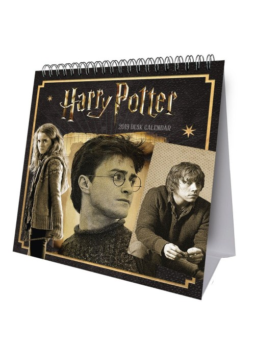 Calendario de Escritorio 2019 (INGLÉS) - Harry Potter