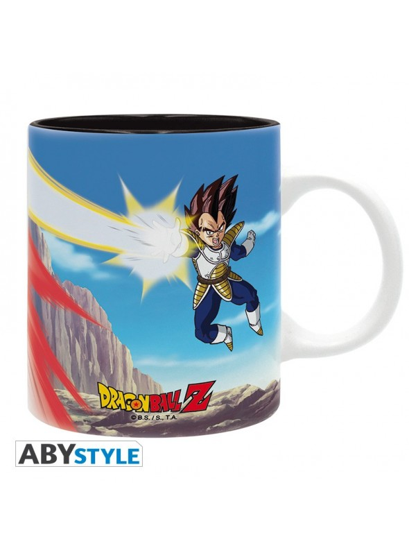 Taza Goku vs Vegeta - Dragon Ball