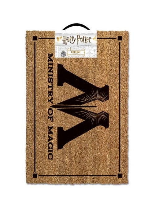Felpudo Ministry of Magic 40 x 60 cm - Harry Potter