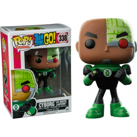 Figura Funko POP Cyborg as Green Lantern Exclusive - Teen Titans Go!