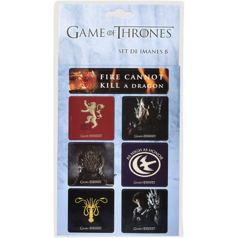 Set of Magnets B - Game of Thrones