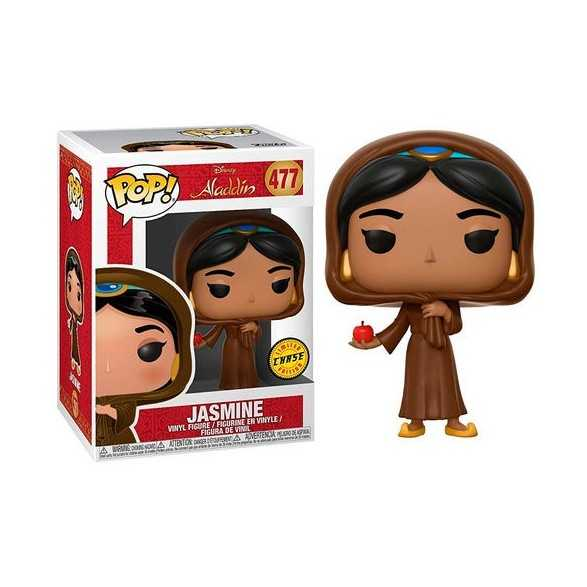 Figura POP Jasmine in Disguise Chase -  Disney Aladdin