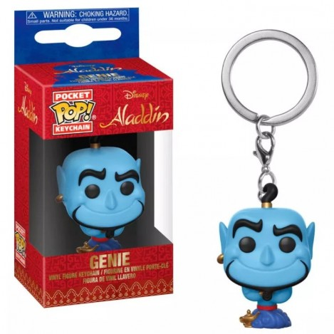 Llavero Pocket Funko POP Genie - Aladdin