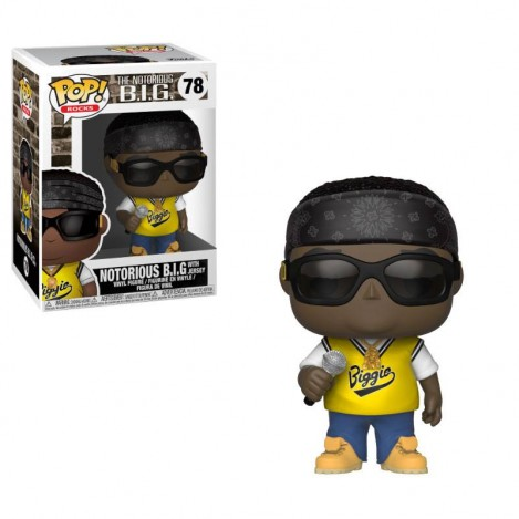 Figura Funko POP Notorious B.I.G. with jersey - The Notorious B.I.G.