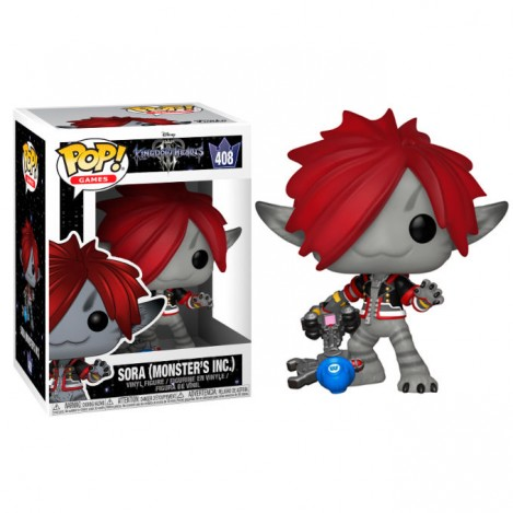 Figura Funko POP Sora Monsters Inc. - Kingdom Hearts 3