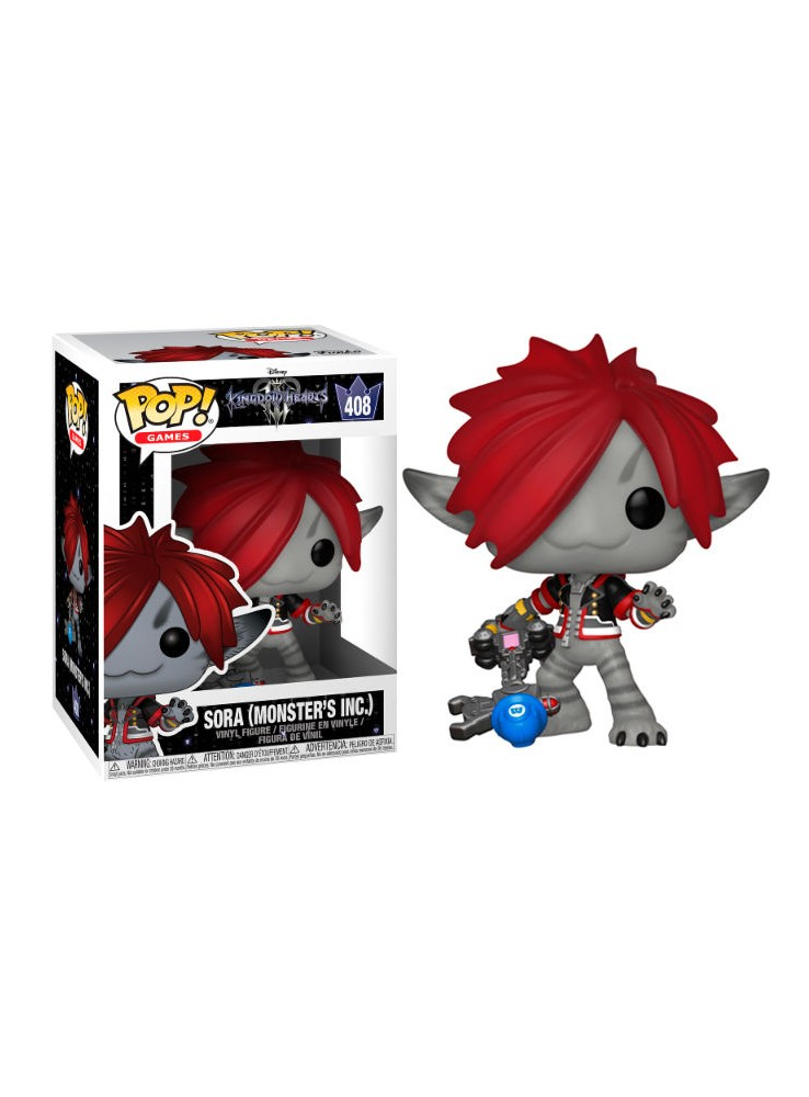 Figura Funko POP Sora Monsters Inc. - Disney Kingdom Hearts 3 ... 782aa04b25ab