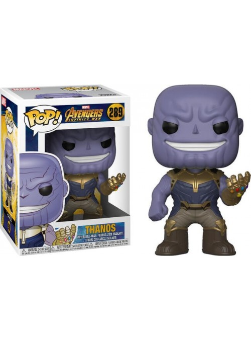 Figura Funko POP Thanos - Infinity War Marvel