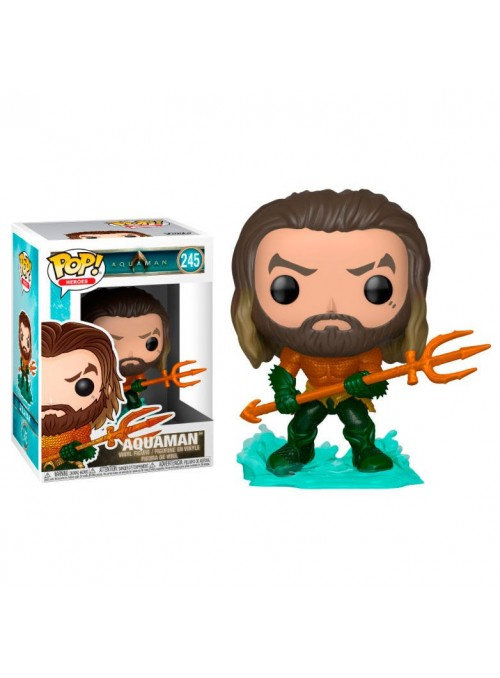 Figura Funko POP Arthur Curry in Hero Suit - DC Comics Aquaman