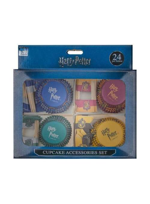 Cápsulas para muffins con toppers Surtido (96) - Harry Potter