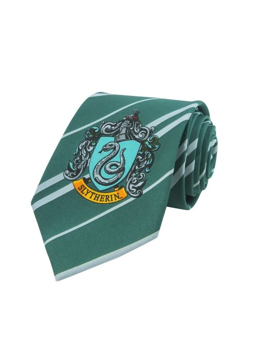 Corbata Slytherin Emblema 155 cm - Harry Potter