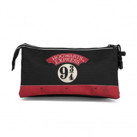 Estuche triple Hogwarts Express - Harry potter
