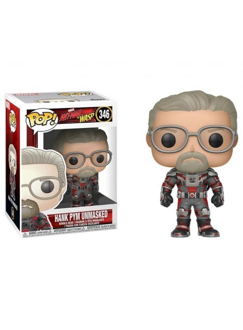 Figura Funkos POP Hank Pym Unmasked - Marvel Antman and The Wasp