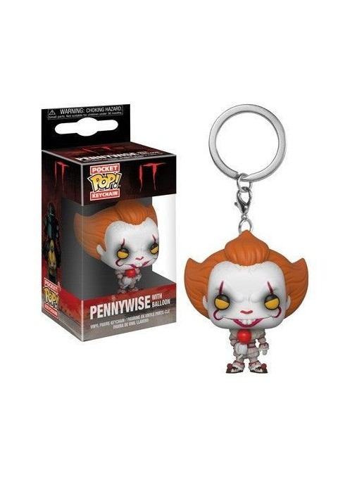 Llavero Funko POP Pennywise with Balloon - Stephen King's It 2017