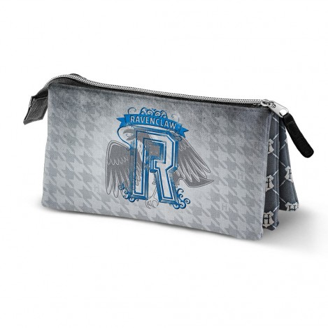 Estuche Triple emblema Ravenclaw - Harry Potter