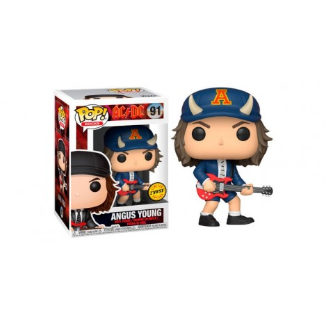 Figura Funko POP Angus Young Chase - AC/DC