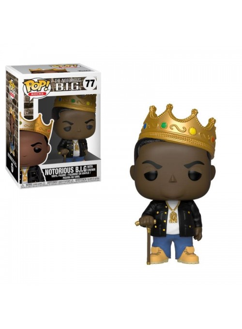 Figura Funko POP Notorious B.I.G. with Crown - Notorious B.I.G.