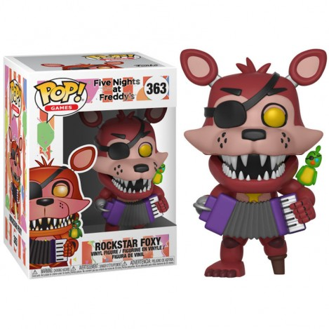 Figura Funko POP Rockstar Foxy - Five Nights at Freddys 6 Pizza Sim