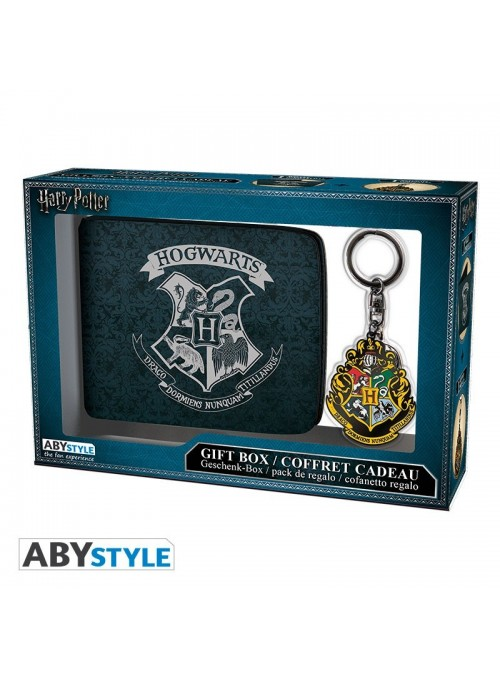 Set billetero y Llavero Hogwarts - Harry Potter