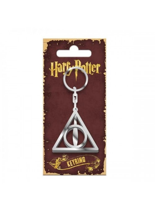 Llavero metálico Deathly Hallows - Harry Potter