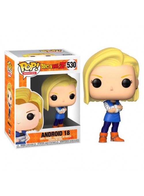 Figura Funko POP Android 18 - Dragon Ball Z