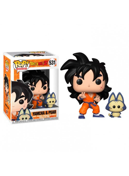 Figura Funko POP Yamcha & Puar - Dragon Ball Z