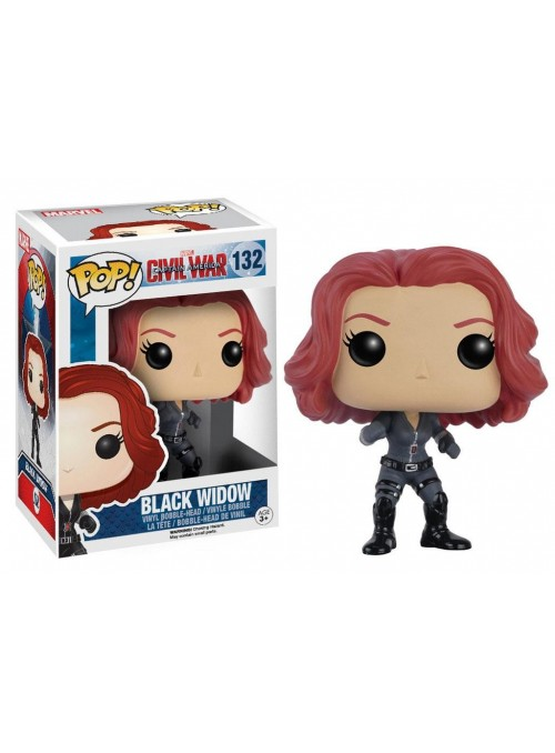 Figura Funko POP Black Widow - Captain America Civil War