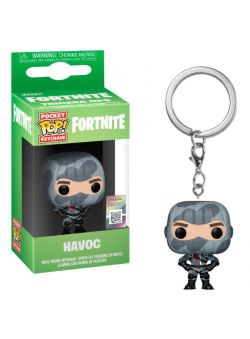 Llavero Pocket Funko POP Havoc - Fortnite