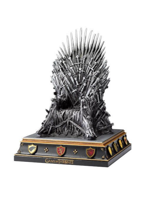 Support of books for The Iron Throne-Game of Thrones