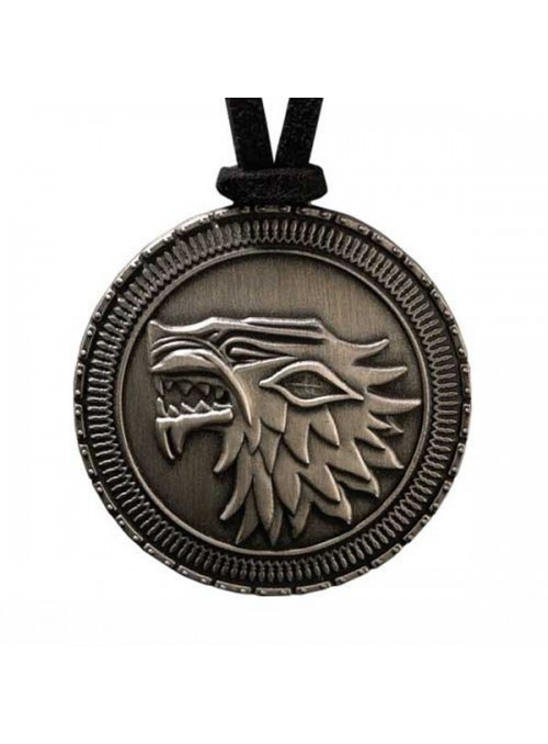 Pendentif Bouclier Stark Game of Thrones