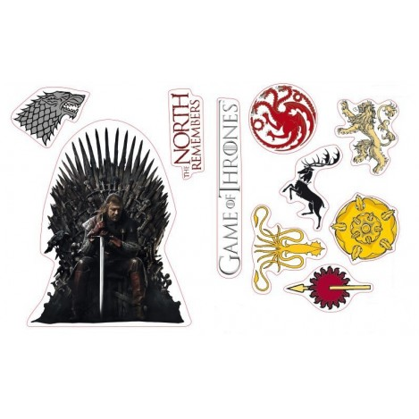 Stickers - 16x11cm - Game of Thrones
