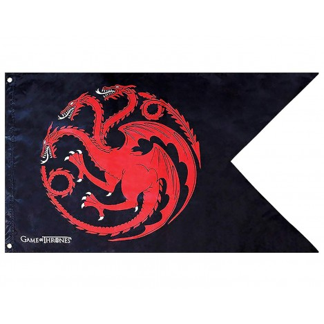 "Flag ""Targaryen"" (70x120) - Game of Thrones"