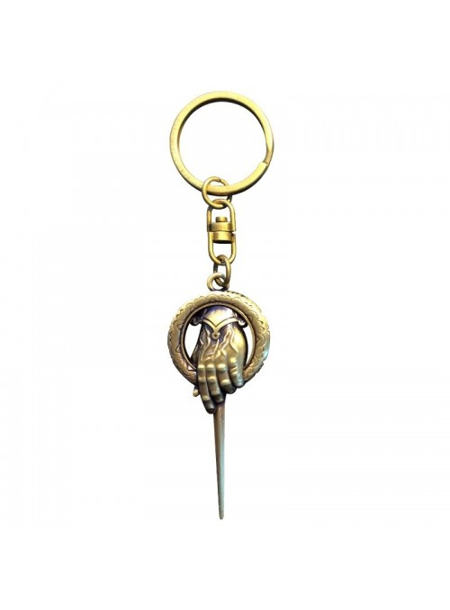 """Keychain 3D """"Hand of the King"""" - Game of Thrones"""